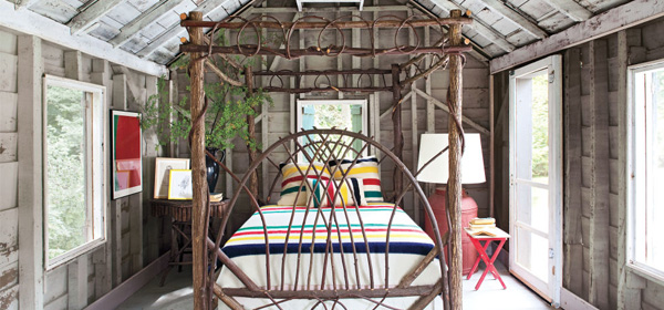Rural themed bed