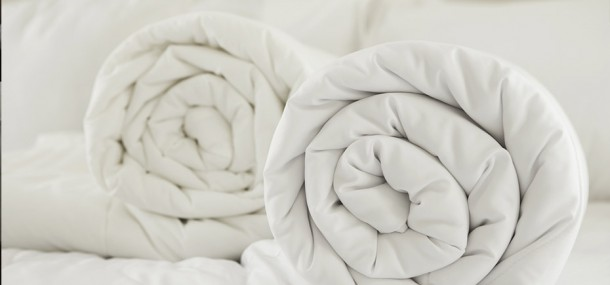 Image of two large duvets